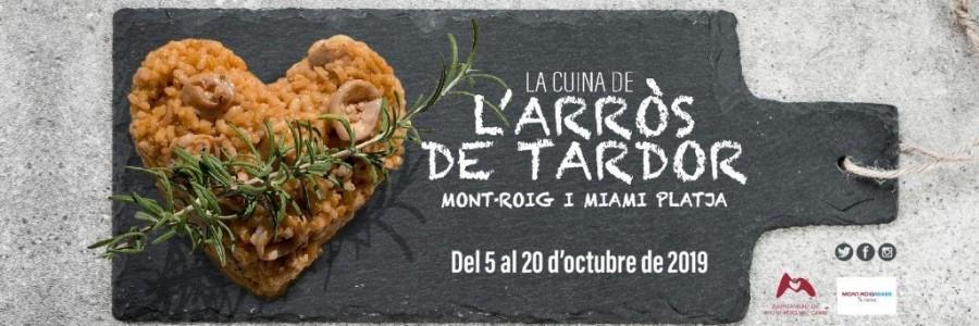 III JORNADES GASTRONÒMIQUES DE LA CUINA DE L'ARRÒS DE TARDOR